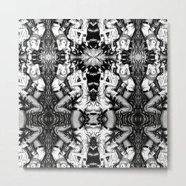 Love Triangle Metal Print