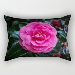Comely Camellia Rectangular Pillow