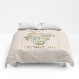 A Traveler's Heart Comforters
