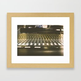 Studio Mixer Framed Art Print