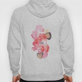 Watercolor Pink Black Flow | [dec-connect] 20. benign Hoody