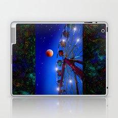 Ferris wheel to the moon Laptop & iPad Skin