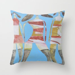 You'll Lose A Good Thing Throw Pillow