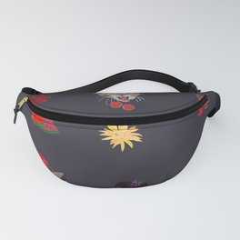 Cute Cats and Fruity Pattern Fanny Pack