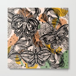 Lovely wings Metal Print