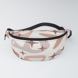 Retro Mid Century Modern Abstract Composition 936 Fanny Pack