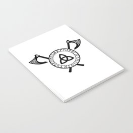 Norse Axe - Celtic Knot Notebook