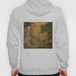 Beauty and the Beast, 1904 by John D Batten & Joseph E Southall - Reproduced from original under CC0 Hoody