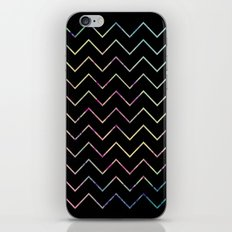 Chevron Night iPhone Skin