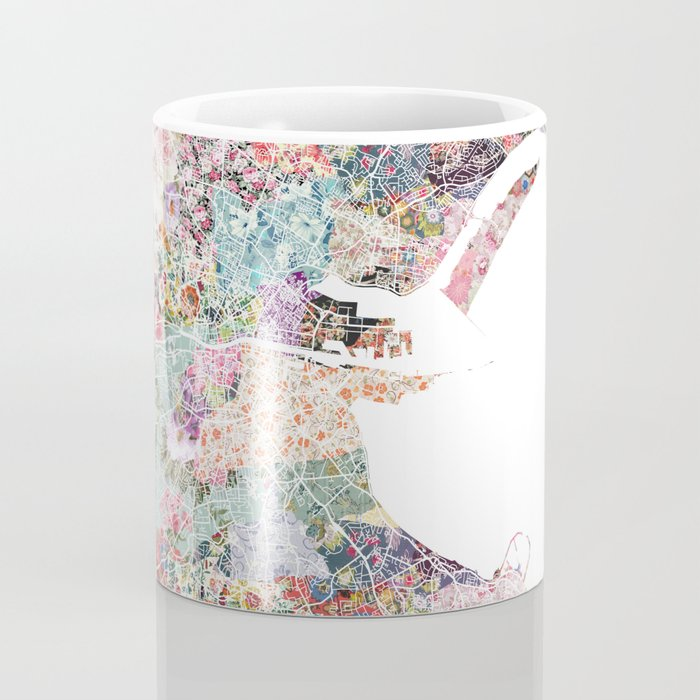 Dublin map Coffee Mug