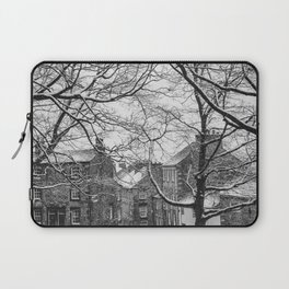 Winter Scenic of Castle Street, Lancaster. Laptop Sleeve