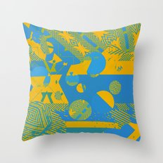 New Sacred 25 (2014) Throw Pillow