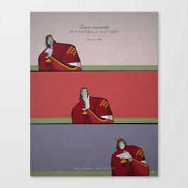 Totti Canvas Print