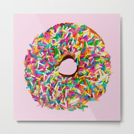 Go Nuts for Donuts Metal Print