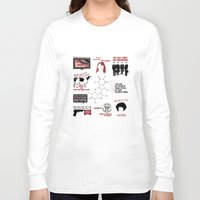 fringe Long Sleeve T-shirts featuring Fringe Quotes by CLM Design