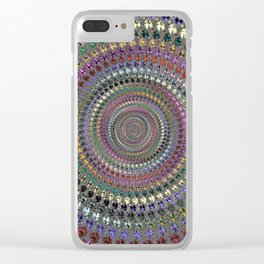 Fractal Well Clear iPhone Case