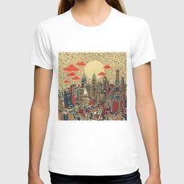 philadelphia city skyline T-shirt