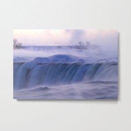 Niagara Falls at Dawn Metal Print