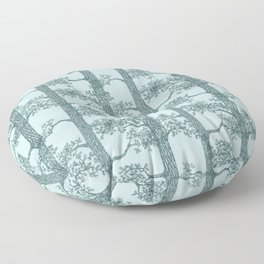 Pine Forest (Mint and Pine) Floor Pillow