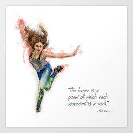 Dancer - Tap Art Print