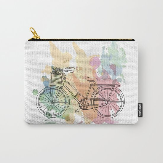 Cycle Painting Carry-All Pouch