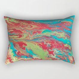 Psychedelic Collection Rectangular Pillow