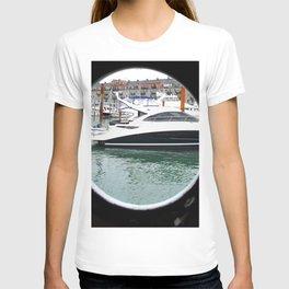 Port Hole View of Boston T-shirt