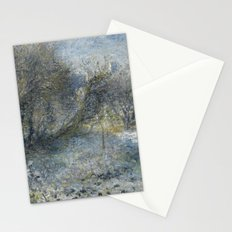 Renoir - Snow Covered Landscape Stationery Cards