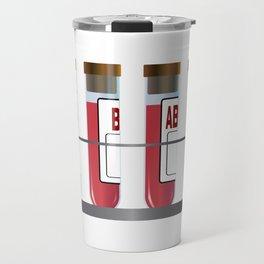Blood Group Samples Travel Mug