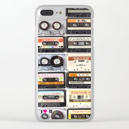 MY SUMMER PLAYLIST Clear iPhone Case