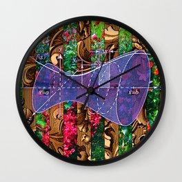 Figure 24 (Diagram Series) Wall Clock