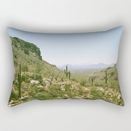 A Hot Day in the Canyon Rectangular Pillow