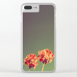 Infrared Palms Clear iPhone Case