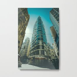 CITY - BUILDING - SQUARE - PHOTOGRAPHY Metal Print