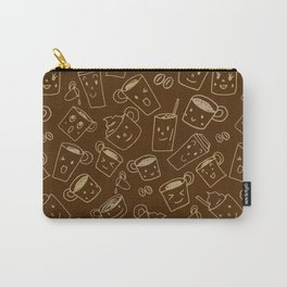Coffee illustration pattern Carry-All Pouch
