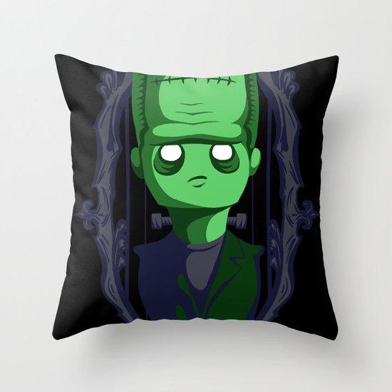 Hey Frankie! Throw Pillow