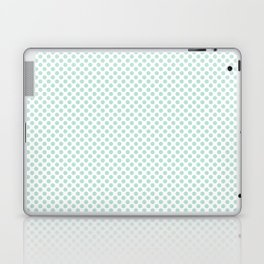Honeydew Polka Dots Laptop & iPad Skin