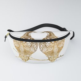 Two Turtle Doves Fanny Pack