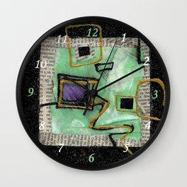 Quadratum 4 bis Wall Clock