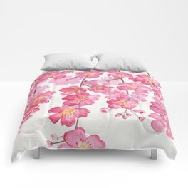 Weeping Cherry Blossom Comforters