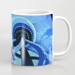Europa Space Travel Retro Art Coffee Mug