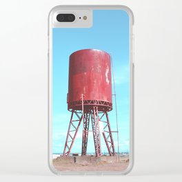 Old water tank Clear iPhone Case