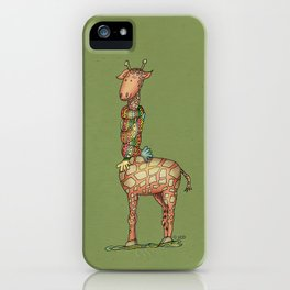 Cleo - green iPhone Case
