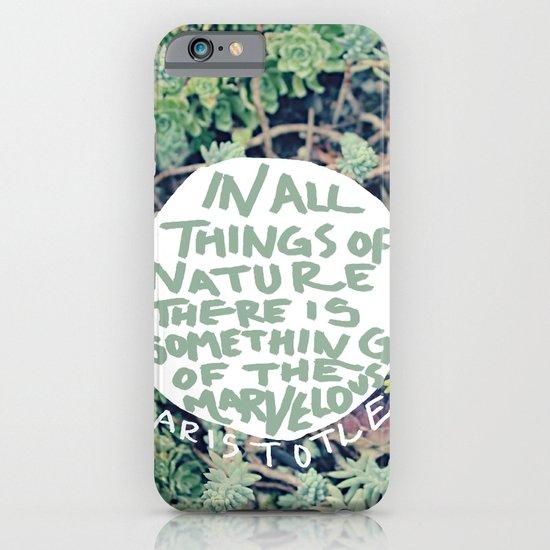 Aristotle: Nature iPhone & iPod Case