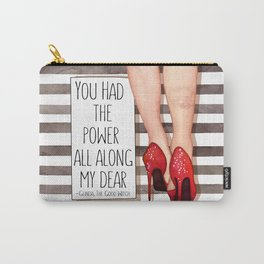 Red Slippers Carry-All Pouch