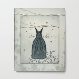 True Love Fairy Dress Metal Print