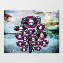 Beasts of Botanica - Velvet Queen Sunflowers Canvas Print