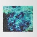 GALAXY. Teal Aqua Stars by vintageby2sweet
