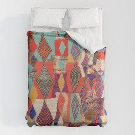 Moroccan rug pattern animal abstract modern Bettbezug