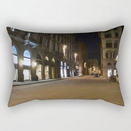 Florentine Streets Rectangular Pillow